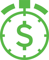 Service budget icon